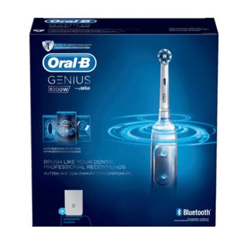 Oral-B Elektrische Zahnbürste Genius 8200 White