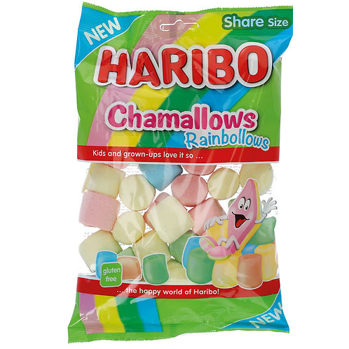 HARIBO Chamallows Rainbollows 175g (Marshmallow)