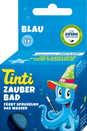 Tinti Badezusatz Zauberbad Blau, 1 St