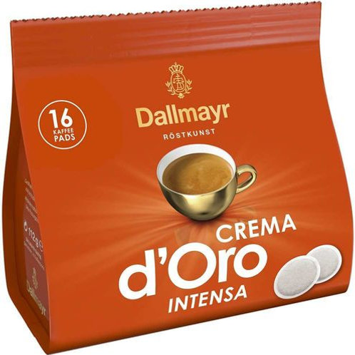 Dallmayr Crema d'Oro Intensa Kaffeepads