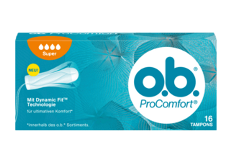 o.b. Tampons Pro Comfort Super, 16 St