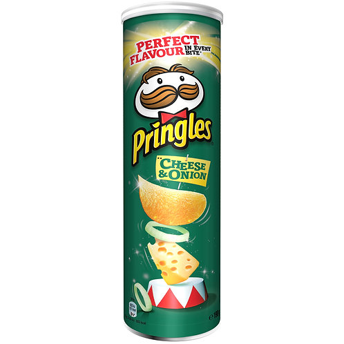 Pringles Cheese & Onion 200 gramm