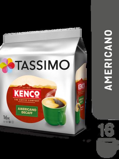 Jacobs Caffé Kenco Americano Entkoffeiniert TASSIMO