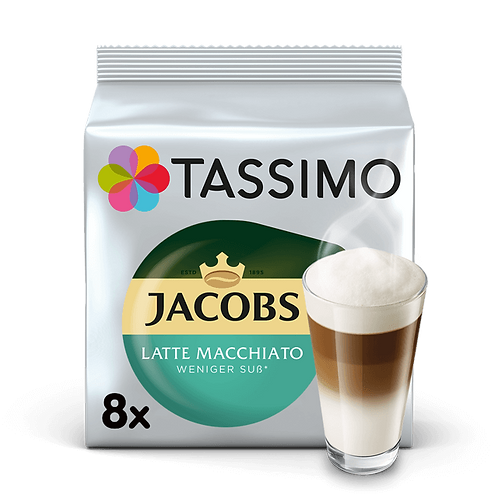 Tassimo Jacobs Typ Latte Macchiato Weniger Süß