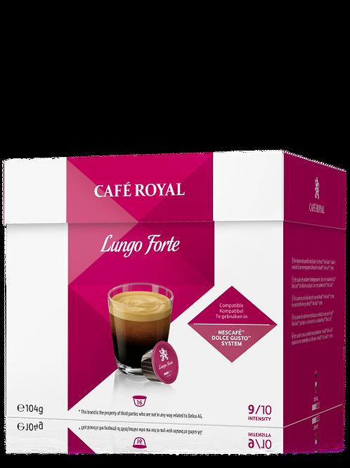 Dolce Gusto kompatible Kapsel von Café Royal Lungo Forte