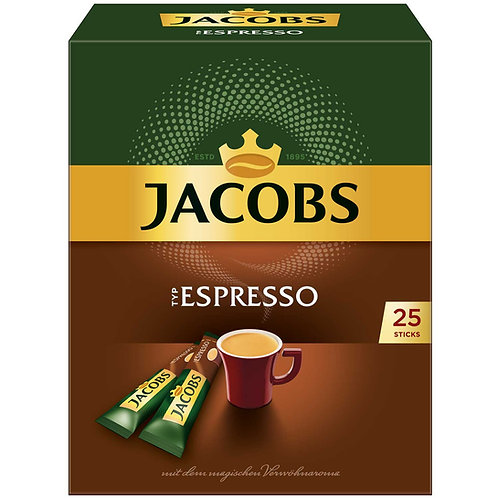 Jacobs Espresso Portionssticks 25er