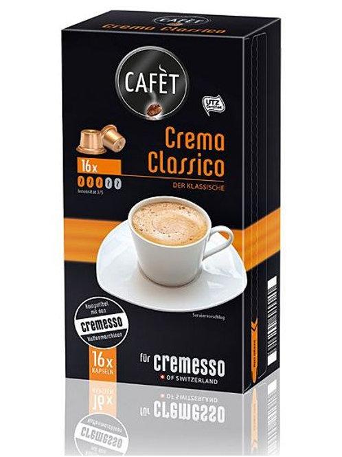 Capsula compatibile DELIZIO® CAFET * CREMA CLASSICO *