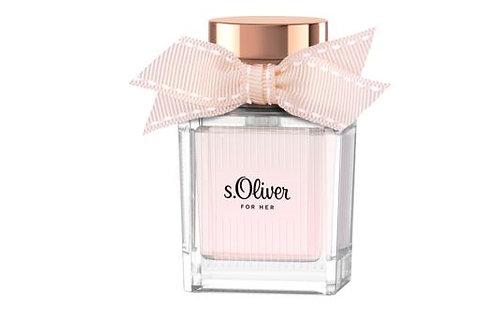 s.Oliver Eau de Parfum For Her, 30 ml