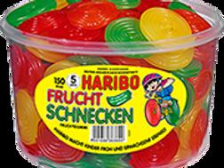 HARIBO FRUCHTSCHNECKEN, Dose 150 Stk