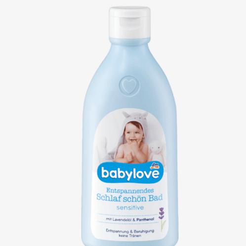 babylove Badezusatz  Entspannendes Schlaf schön Bad sensitive, 0,5 l