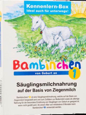 Bambinchen Anfangsmilch 1 Probierbox von Geburt an, 78 g
