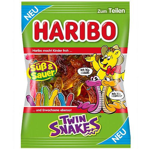 HARIBO Twin Snakes, Beutel mit 175 gramm