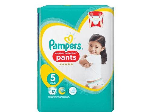 Pampers Premium Protection PANTS 5 Junior 17 pieces.