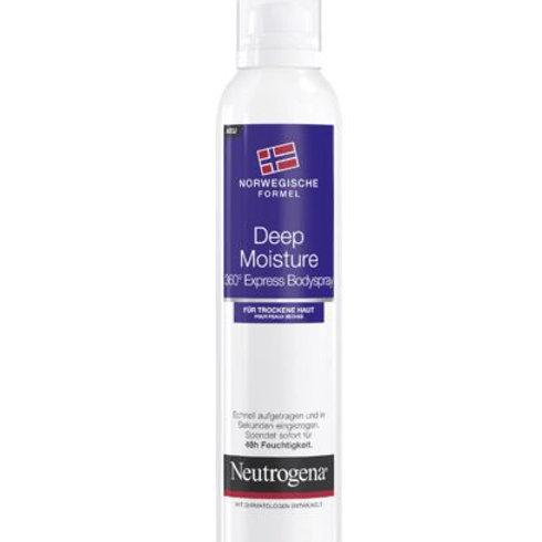 Neutrogena Körperlotion Deep Moisture 360°Express Bodyspray, 200 ml