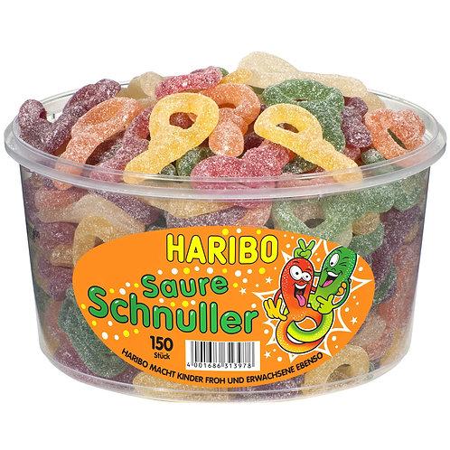 HARIBO Saure Schnuller, Dose 150 Stk