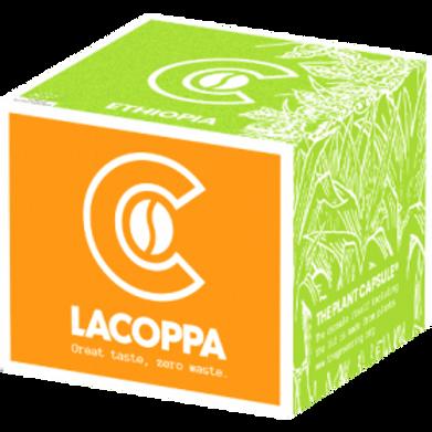 NESPRESSO® Kompatible Kapsel LACOPPA ETHIOPIA BIO (Kompostierbar)