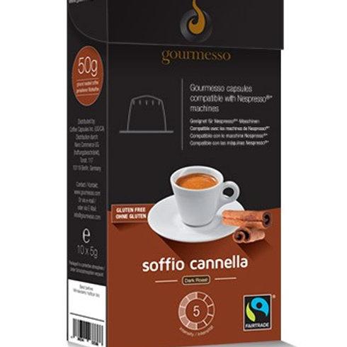 Nespresso® Kompatible Kapsel von GOURMESSO FLAVORED ESPRESSO ZIMT Kaffeekapseln