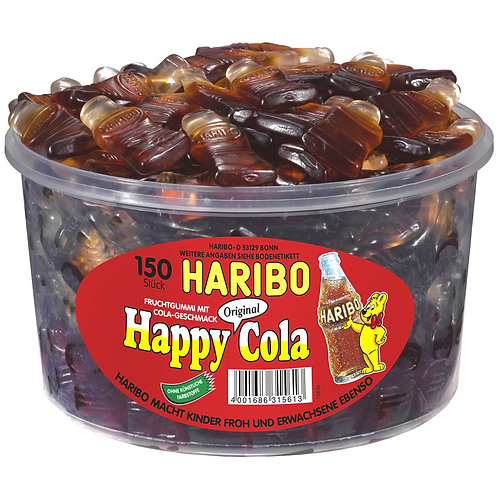 HARIBO Happy Cola 150er Dose