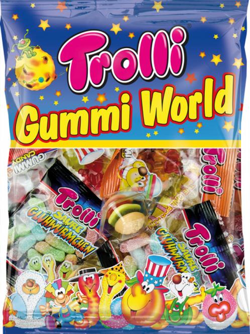 Trolli Gummi World Mix, Beutel 230 gramm