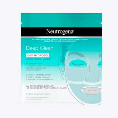 Neutrogena Skin Detox Pure Boost Hydro Gel Maske, 1 St