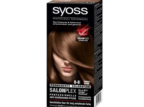Syoss Coloration 6-8 Dunkelblond , 1 St
