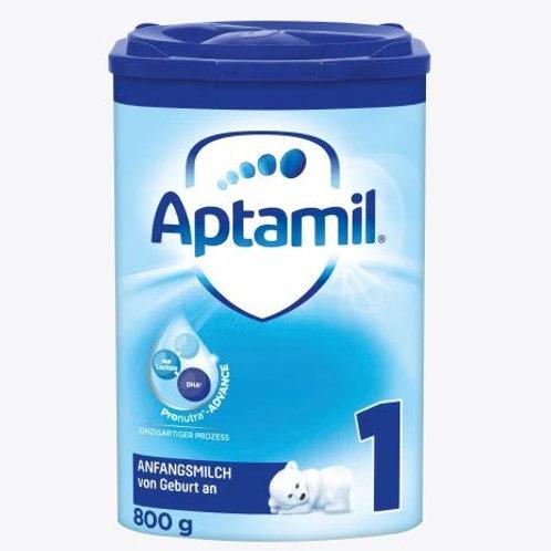 Aptamil Anfangsmilch Pronutra 1 von geburt an 800g