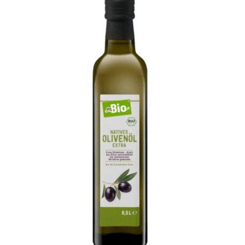 dmBio Pflanzenöl, natives Olivenöl extra, 500 ml