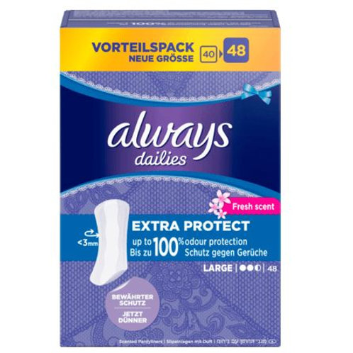 always daylies Slipeinlage Large Fresh, 48 St