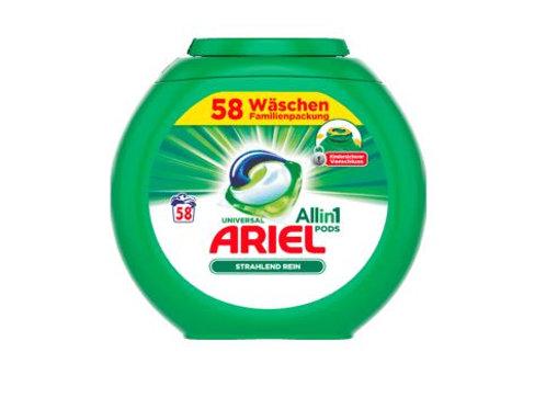 Ariel Vollwaschmittel All-in-1 PODS Universal, 58 Wl