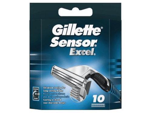 Gillette Sensor Excel Rasierklingen, 10 St