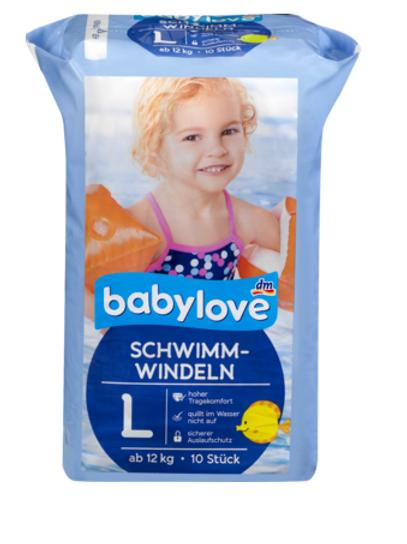 Babylove Schwimmwindeln Grösse 5 = ab 12 Kg