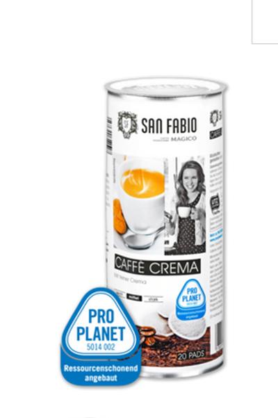 Pads von SAN FABIO Espresso