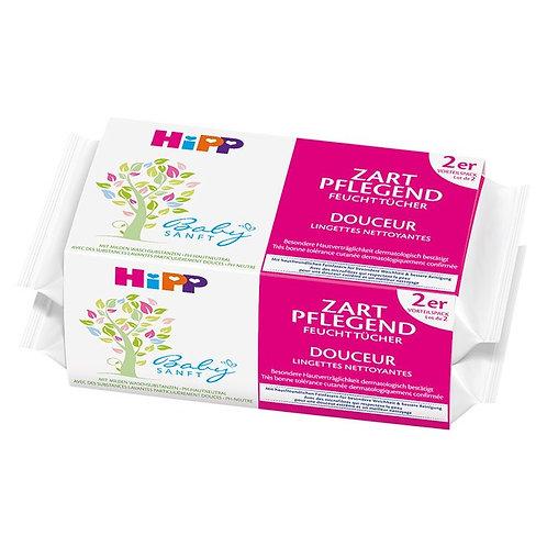 HIPP Baby Zart Pflegend Pflegetücher Doppelpack 112 Tücher