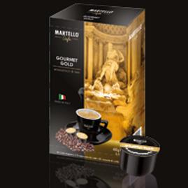 MARTELLO® Kompatible Kapsel GOURMET GOLD