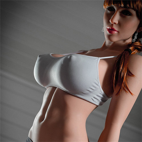 Silikon Sexdoll mit Skelett 170cm Alexa