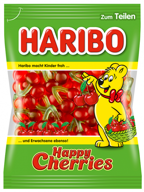Haribo HAPPY CHERRIES, Beutel 200g