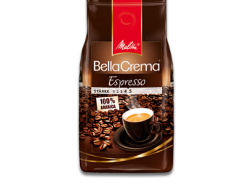 Melitta Bella Crema *ESPRESSO* Kaffeebohnen Stärke 4.5