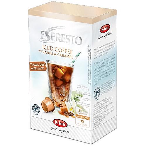 K-Fee Kaffeekapseln ESPRESTO Iced Coffee Vanilla Caramel