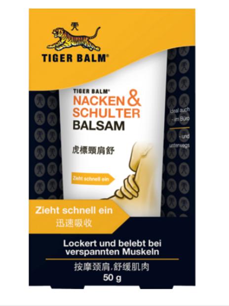 Tiger Balm Nacken und Schulter Balsam 50g