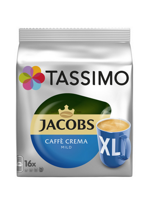 Jacobs Caffè Crema mild XL System TASSIMO