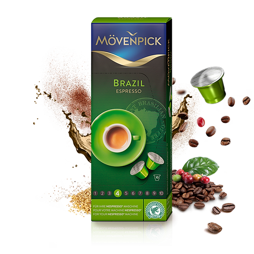 Nespresso® kompatible Kapsel Mövenpick Brasil Lungo