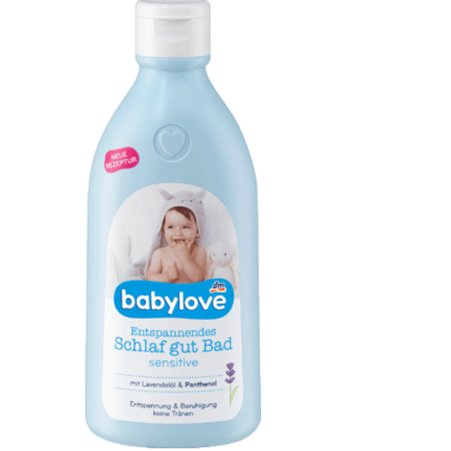 babylove Entspannendes Schlaf gut Bad sensitive 500ml, 0,5 l