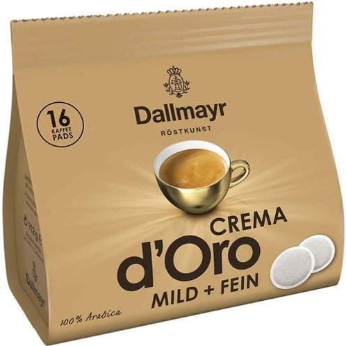Dallmayr Crema d´Oro mild & fein Kaffeepads