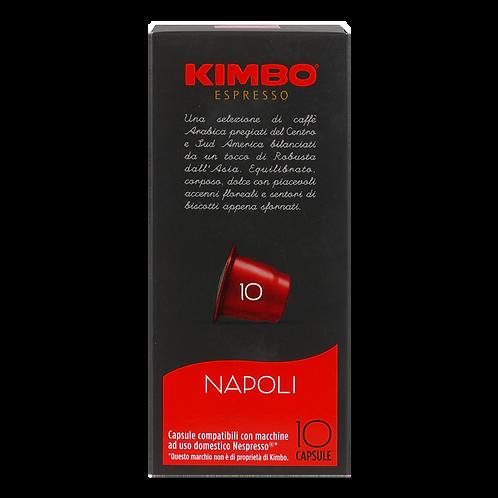 Nespresso® kompatible Kapsel von KIMBO Espresso NAPOLI