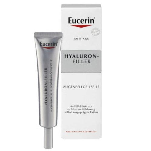 Eucerin Augencreme Anti-Age Hyaluron-Filler, 15 ml