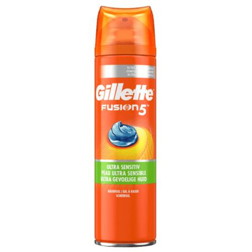 Gillette Fusion 5 Rasiergel ultra sensitiv, 200 ml