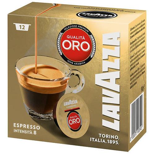 LAVAZZA® A Modo Mio kompatible Kapsel Espresso Qualita Oro