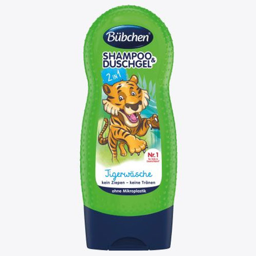 Bübchen Kids Shampoo & Duschgel Tigerwäsche, 230 ml