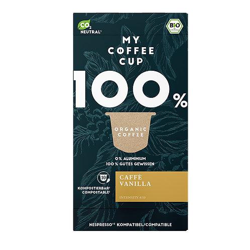 Nespresso® kompatible Kaffeekapseln MY-Coffeecup CAFFÈ VANILLA