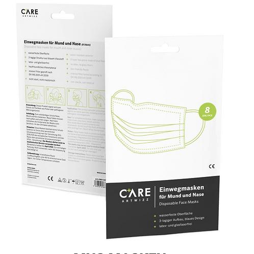 Atemschutz Coronamaske Schutzklasse 8er-Pack, Marke Care Artewizz